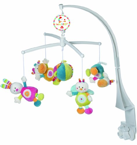 Fehn 151596 Musik-Mobile Tiere/Ball