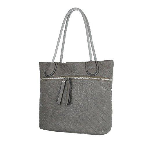 Taschen Tragetasche Schultertasche Grau
