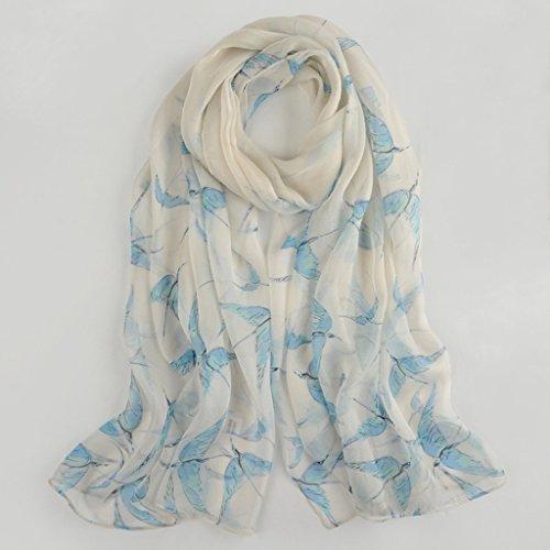 serviette de plage Écharpe à écharpe en soie brodée de haute qualité à double usage ( Couleur : #10 ) #13