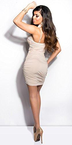 Koucla robe sexy avec dos nu koucla by in-stylefashion sKU 0000K9020 Beige - Beige