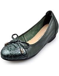 LITHAPP Zapatos Planos Zapatos Para Mujeres Pajarita Mocasines Bombas Zapatos Para Barcos Mocasines De Oficina