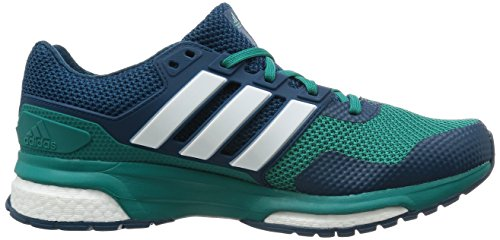 adidas Herren Response Boost 2 Laufschuhe Grün (Eqt Green S16/Ftwr White/Mineral S16)