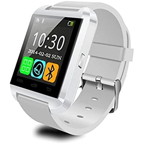 Generic u Orologio U80Smartwatch Bluetooth 3.0in Silicone Wristband Per Apple