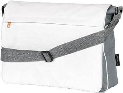 CENTRIX VERMONT SHOULDER BAG MESSENGER - GREY / WHITE