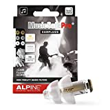 Alpine MusicSafe Pro Ear Plugs Hearing Protection for Musicians - 3 Different Filter Sets and accessories to enhance your music-making experience - Hypoallergenic and Reusable earplugs - Transparent