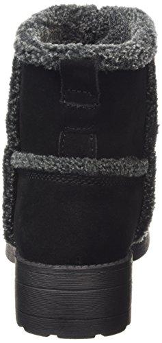 Rocket Dog  THURSTON, Bottes en caoutchouc à tige basse et doublure chaude femmes Noir - Schwarz (BLACK/GREY AGA)
