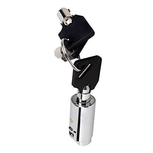 Sharplace Universal Lock Schloss Rundschloss für Automaten - mit Universalschlüsseln