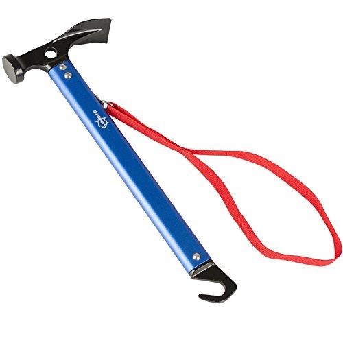 #0618 Zelthammer mit Heringsauszieher und robustem Alum… | 04059301219495