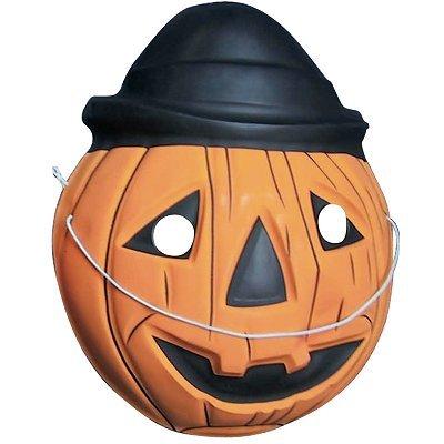 Rubie's - Masque - Halloween : Citrouille avec chapeau rond