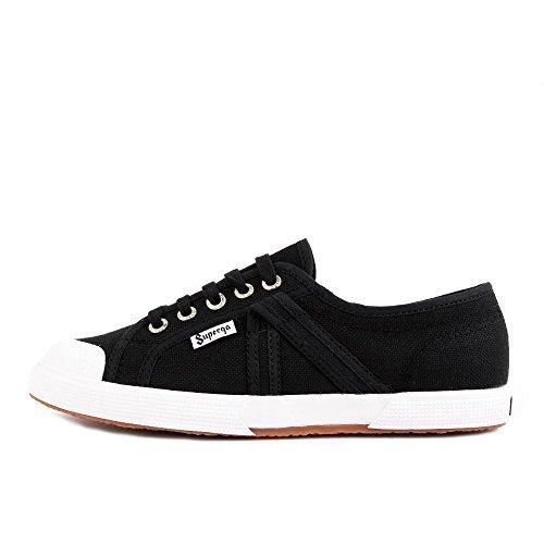 Superga 2750 Aerex Century Black White Black