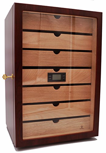 GERMANUS Veter II Cigar Humidor armario higrómetro