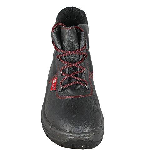 Por Psh Hi Negro S2 Negro Baustiefel Los Encima Zapatos Src Bp503 De qwUSAO