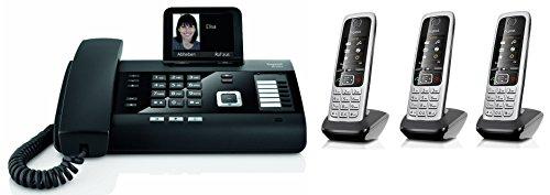 Gigaset DL500A SET mit 3x C430H Mobilteil - analog, Anrufbeantworter, Bluetooth® ECO DECT (Telefon-sets, 3 Mobilteile)