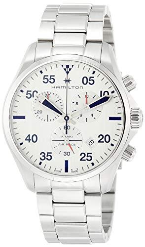 Hamilton Reloj de Hombre Cuarzo 44mm Correa y Caja de Acero H76712151