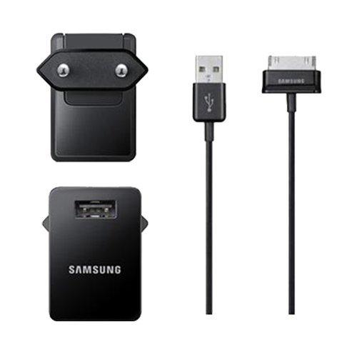 Samsung ETA-P11EBEGSTD Carica Batterie da Viaggio per Galaxy Tab, Nero