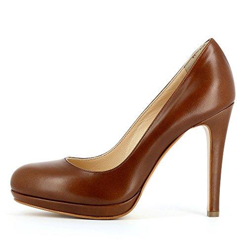 Evita Shoes Damen Cristina Pumps Cognac
