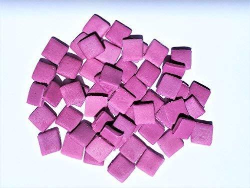 Quadratische Mosaik-fliese Top (Cake Accessories 100 Essbar Einfarbig Violett Minecraft Quadrate Fliesen Pixel Kuchen Dekoration)