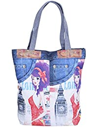Classic Printed Multicolored Hand Bag For Girls And Woman's