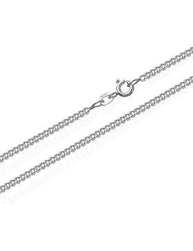 NKlaus 925 Sterling Silber Kette PANZERKETTE Königskette 2,10mm breit