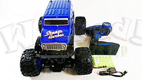 Remote Radio Control RC Hummer H4 Jeep Style 1:12 Aluminium Amphibious Rock Rover Crawler Steep Heroes Jeep Hummer 4WD Buggy By Wicked Imports ©