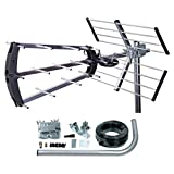 TriStar Digital TV Aerial Compact Tri-Fold Easy Assembly Aerial Kit 4G Filter Outdoor Or Loft 27900KTR