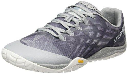 Merrell Trail Glove 4, Zapatillas de Correr Para Hombre, Blanco (High Rise), 40 EU