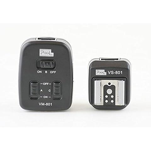 Cavo 4m Flash TTL per Canon combinabili con fino a 3dispositivi flash–Speedlite 600EX-RT, 580EX II, 580EX, 550EX, 540EZ, 430EX II, 430EX, 420EX, 380EX, 320EX, 270EX II, 270EX, 220EX–Simile a OC-E3