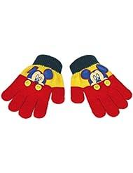 Mickey 2200000372 - Guantes mágicos para niños, color amarillo, talla única