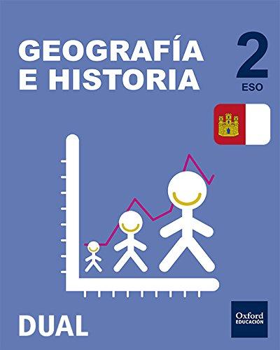 Inicia Dual Geografía E Historia. Libro Del Alumno Castilla La Mancha - 2º ESO - 9780190503352