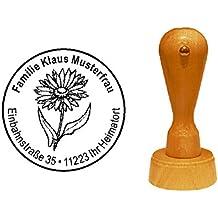 Pflanze Stempel Holzstempel Motivstempel /« RINGELBLUME /» Scrapbooking