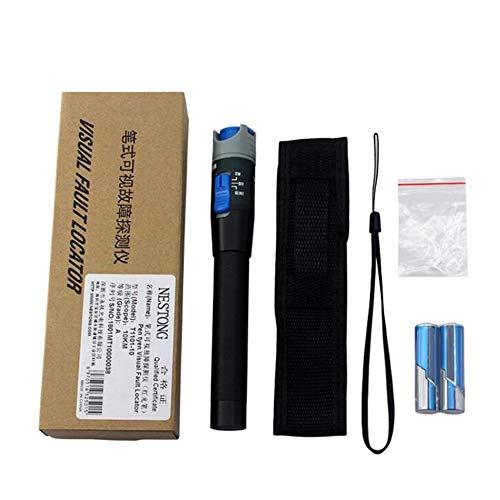 10mW 10KM Visual Fault Locator Fiber Optic Laser Cable Tester Test Equipment black - Fiber Test