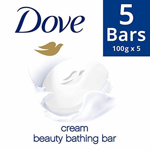 Dove Cream Beauty Bathing Bar, 100g (Pack of 5)