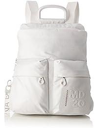 Mandarina Duck Md20 Lux Tracolla - Borse a spalla Donna, Bianco (White Lux), 10x34x30 cm (B x H T)