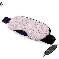Preisvergleich für y.ite Schlafmaske mit USB-Anschluss, beheizt, mit Dampf, zur Entlastung von geschwollenen Augen, dunkle Kreise...