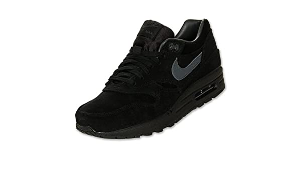 best sneakers 00070 a127a NIKE Air Max 1 Premium Black Anthracite Trainers (512033 011) (UK 13 US 14  EUR 48.5)  Amazon.co.uk  Shoes   Bags