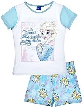 Pigiama corto azzurro Disney Frozen