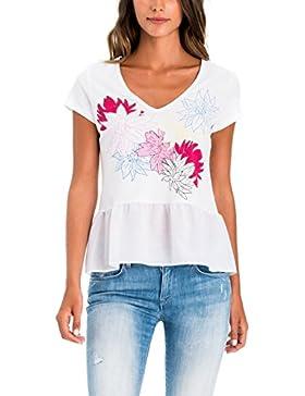 Salsa Camiseta con Flores