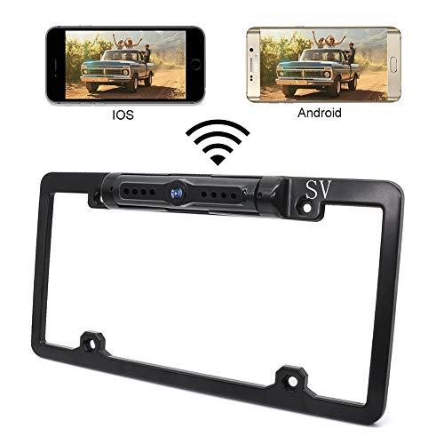Rückfahrkamera- und Spiegelmonitor-Kit für Auto/SUV/LKW/Transporter/Camper-Kabel Einzelne Leistung Rückansicht Optionale Nachtsicht Mobile APP-Überwachung