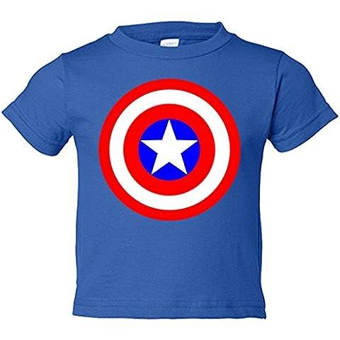 Camiseta niño Capitan America logo
