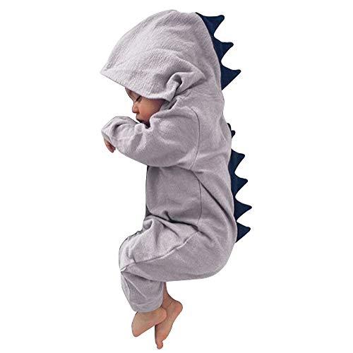 Dehots Baby Jungen Mädchen Strampler Schlafstrampler Overall Jumpsuit -