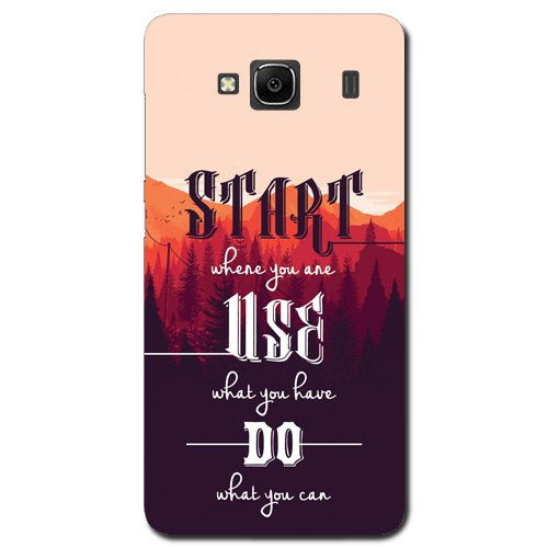Kaira brand Designer Back Case Cover for Xiaomi Redmi 2 (Start)