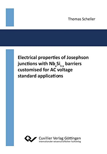 Electrical properties of Josephson junctions with NbxSi1-x barriers customised for AC voltage standard applications (Junction Standard)