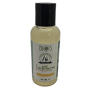 BIO'S – Aftershave-Gel – Hyaluronsäure und Hamamelis-Extrakt – adstringierend und feuchtigkeitsspendend – frei von Parabenen und Silikonen – Vegan – 100 ml