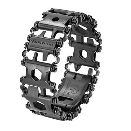 Leatherman - Pulsera Tread, negro
