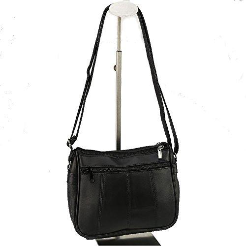 BAG STREET - Sac à bandoulière CUIR BAG STREET 2360 Le sac pas cher - Noir Noir