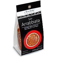 Il Boschetto Nachfüllbeutel Salzmischung Arrabbiata für Salzmühle, 2er Pack (2 x 200 g)