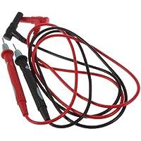 Sungpunet - Juego de 2 comprobadores de Cable de sonda eléctrica, voltímetro Digital