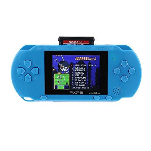 Asiproper NEW16bit PXP3PVP Handheld Game Player videogiochi console con 2gioco di carte