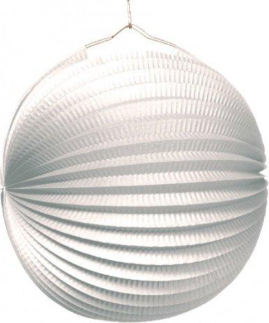 Lampion Ø25cm weiß Liefermenge = 10