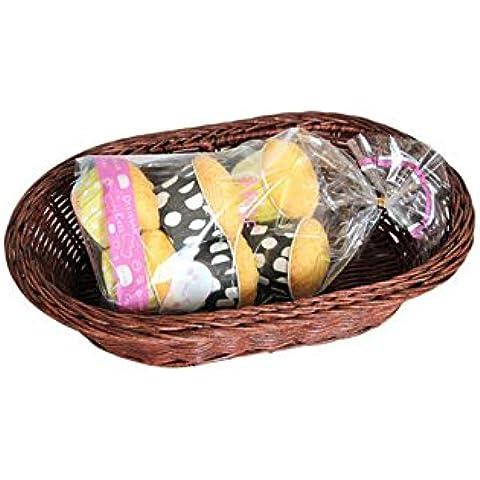 Rattan Bread Basket con il cestino di